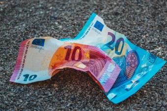 Crumpled Banknotes