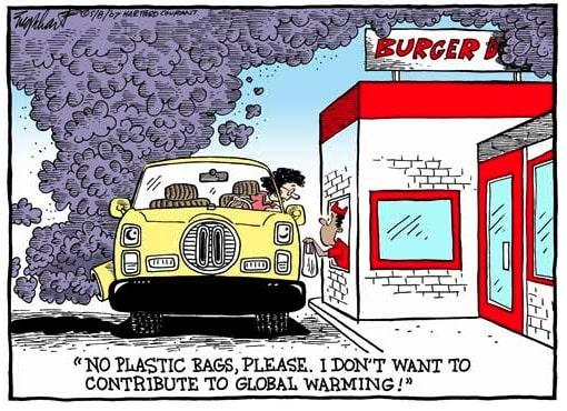 Environmentalist Hypocrite Cartoon