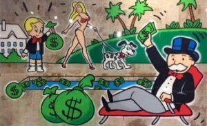 Monopoly Man Pool Wallpaper