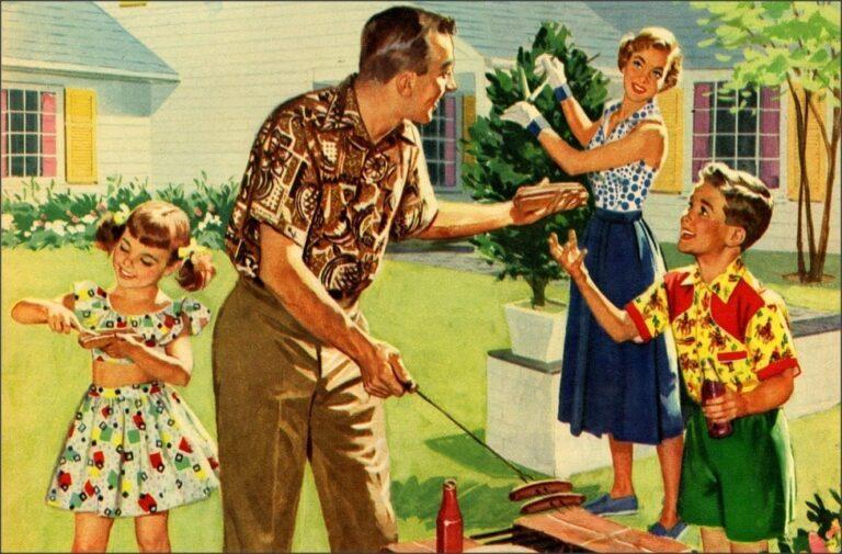1950s American Family