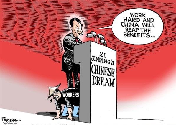 Chinese Dream Cartoon