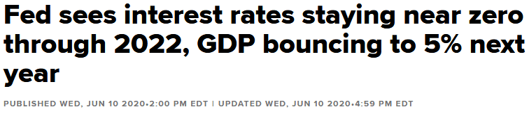 Fed keeps interest rates at 0 until 2022