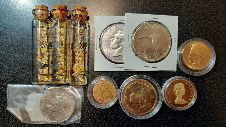 Gold and Silver Collection